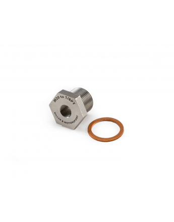 M20 (OEM) TO 1/8PT Oil Temperature Sensor Adapter