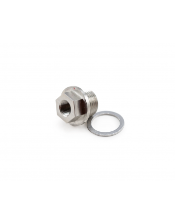 M18 to 1/8NPT Oil Tempature Sensor Adapter