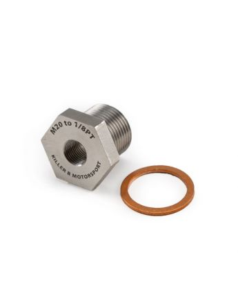 M20 (OEM) TO 1/8PT Oil Temperature Sensor Adapter