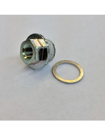 M18 to 1/8PT Oil Tempature Sensor Adapter
