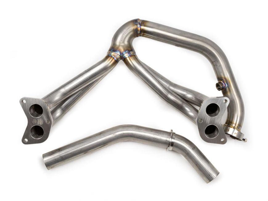 Fit Impreza WRX//STi 02-07 EJ Stainless Steel 1P Header Manifold+Up-Pipe Exhaust